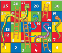 Snake and ladder name in Hindi